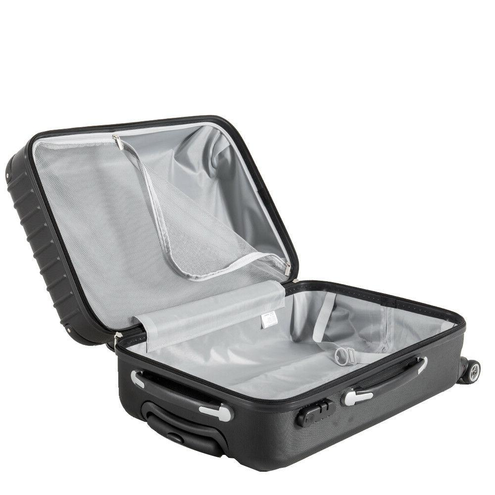 LightWeight Sets Hardside Suitcase
