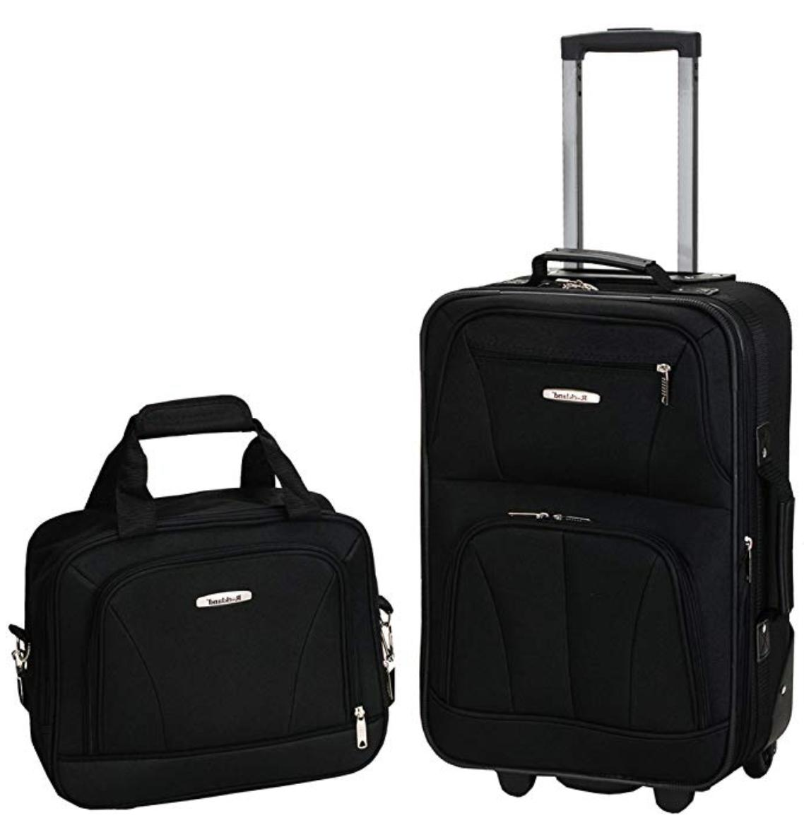 luggage 2 piece set choose 14 colors