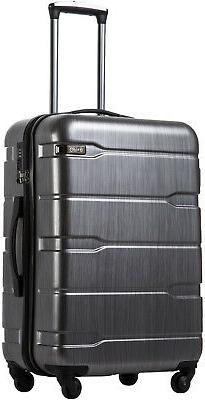 luggage 20 carry on suitcase pc abs