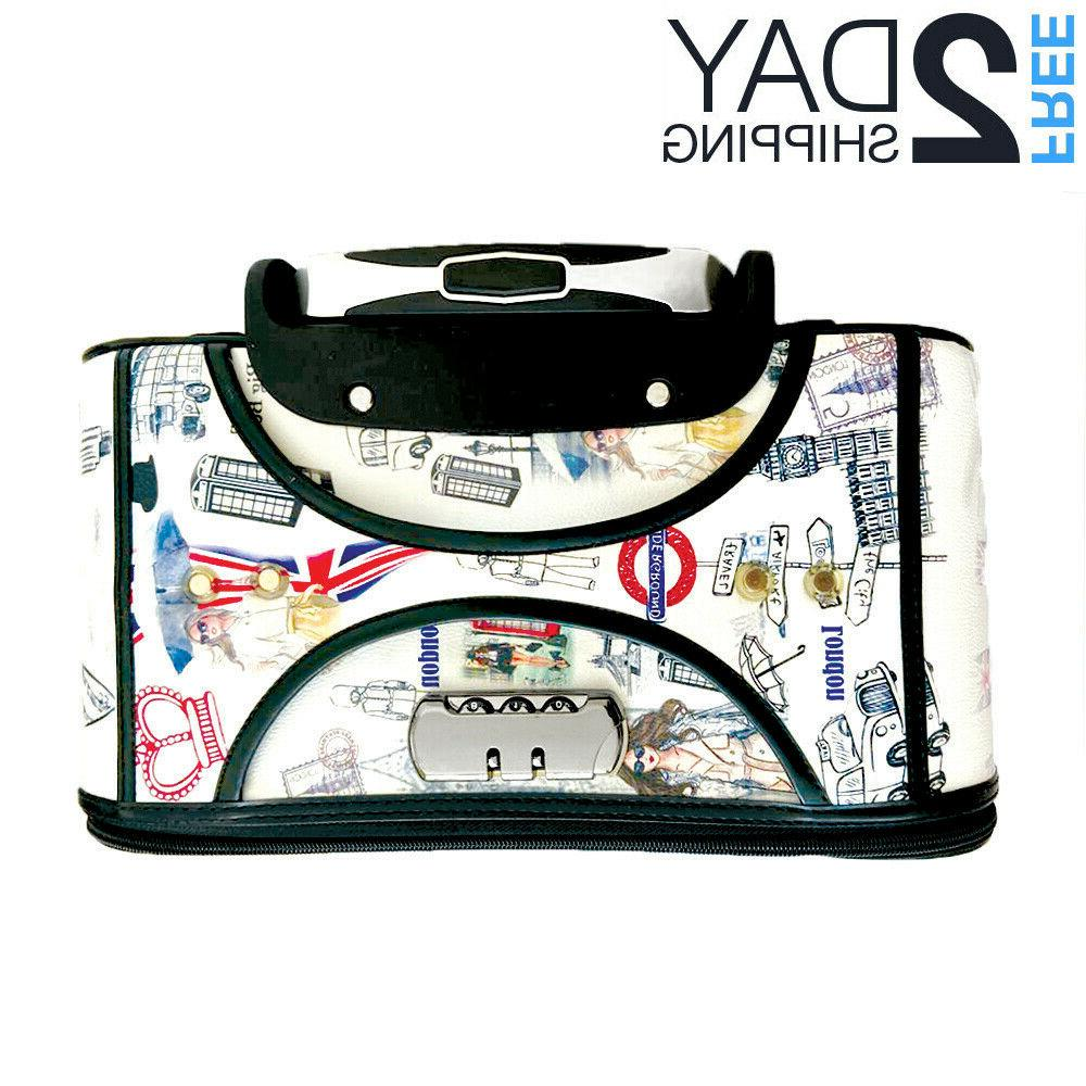 Luggage Suitcase Wheeled Spinner Bag Lightweight
