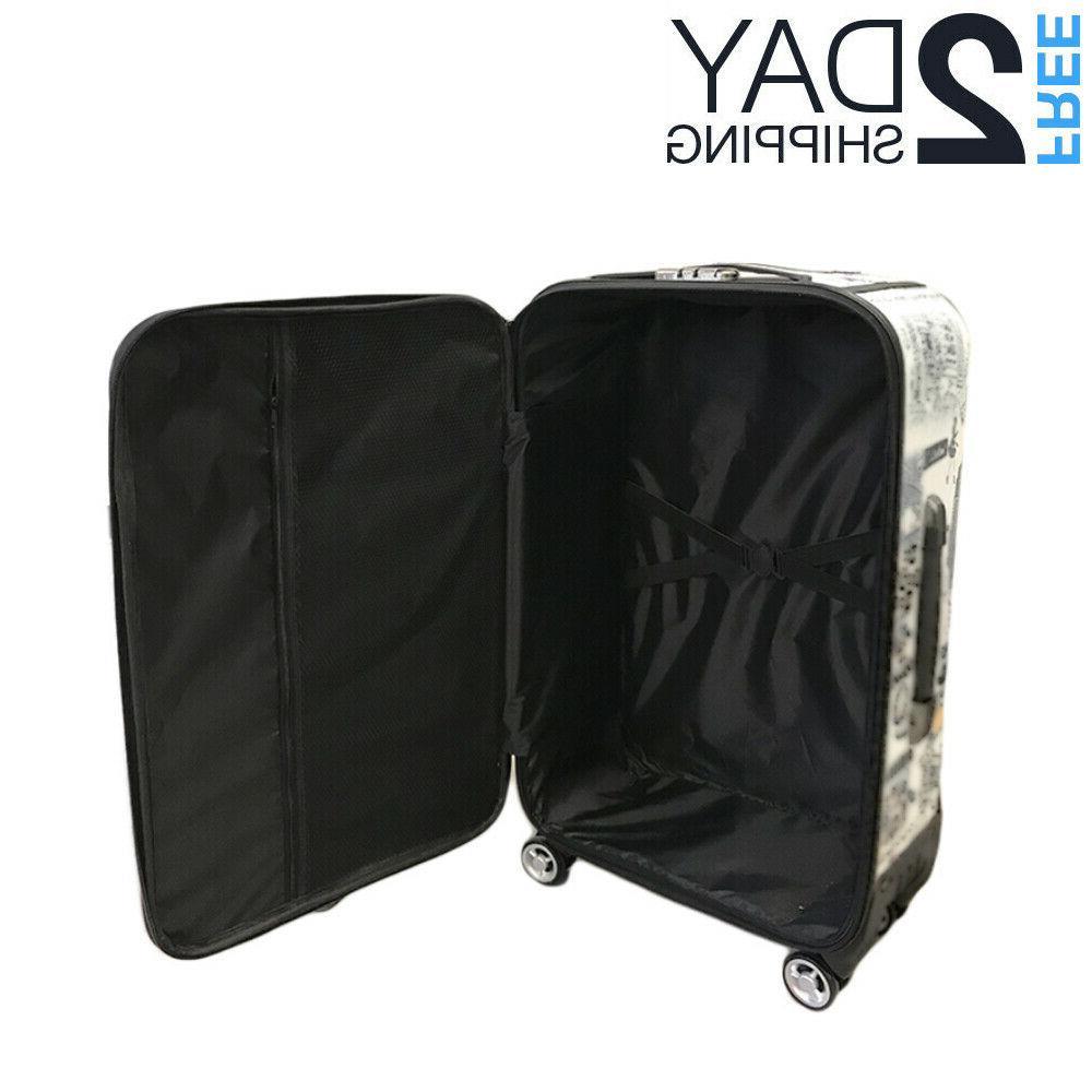 "Luggage 25"" Suitcase Trolley Wheeled Bag"