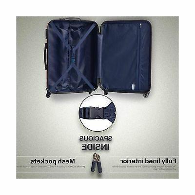 Set Suitcase Lightweight dark green3