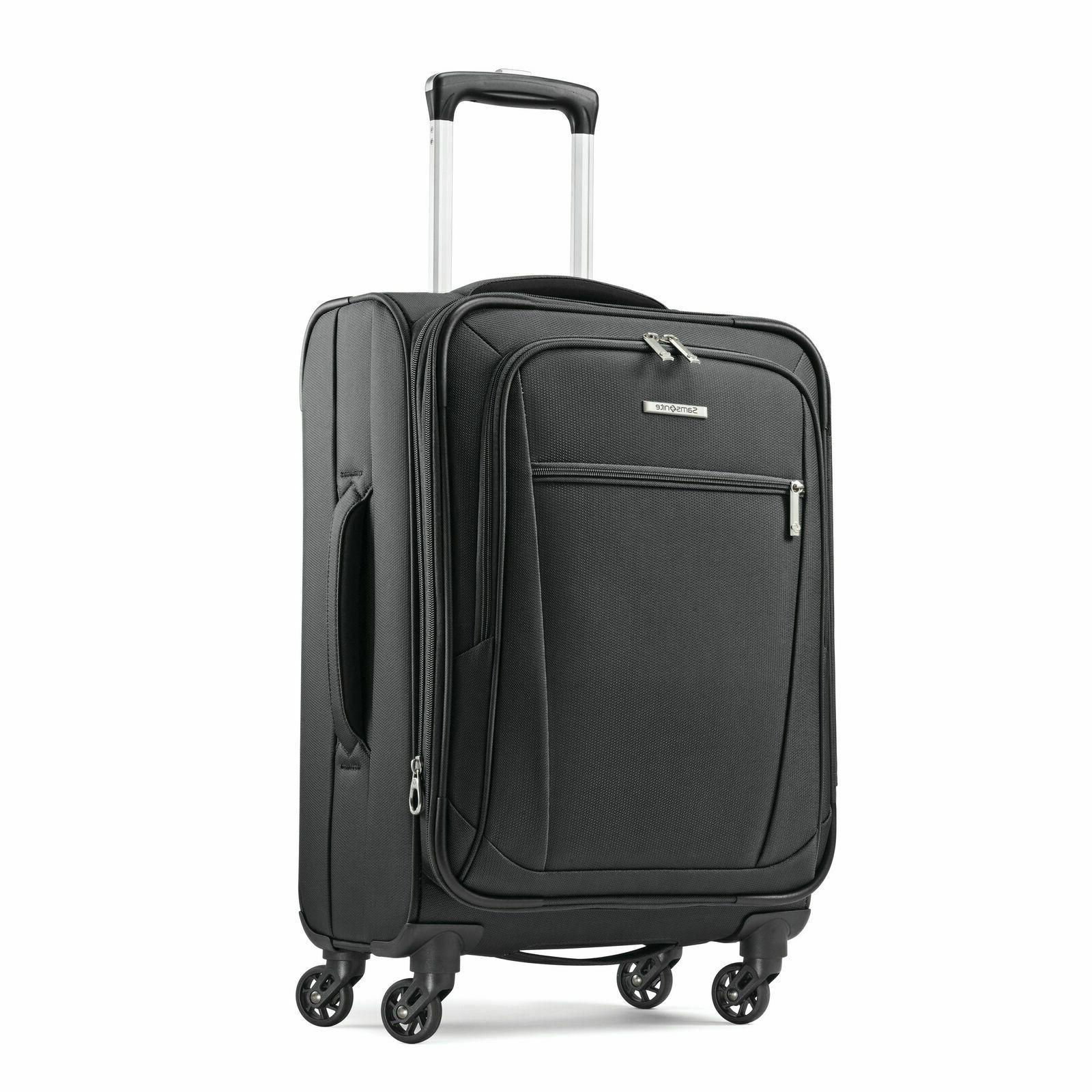 "Samsonite Luggage Ascella 20"" Expandable Spinner Carry-On Up"