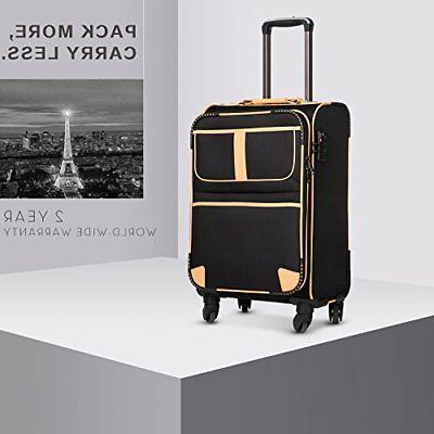 Coolife Suitcase Spinner L28in