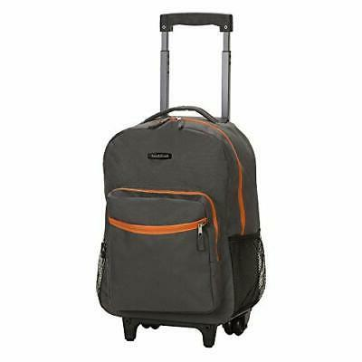 luggage roadster 17 rolling backpack