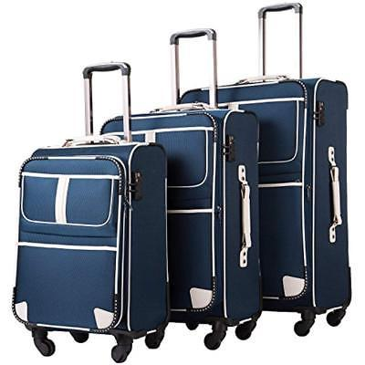 luggage sets 3 piece suitcase tsa lock