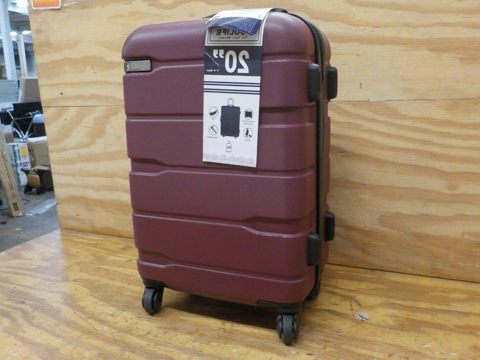 COOLIFE Suitcase Spinner 20in