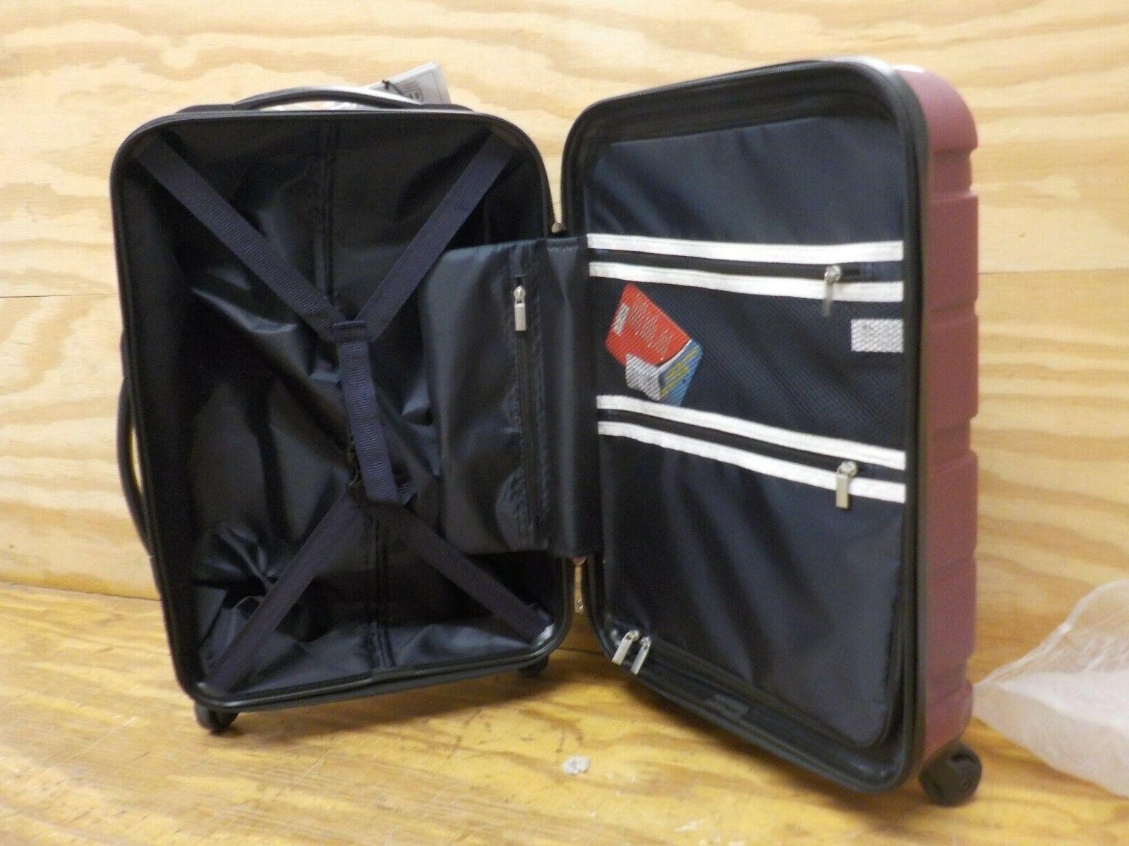 COOLIFE Suitcase Spinner Built-in TSA 20in