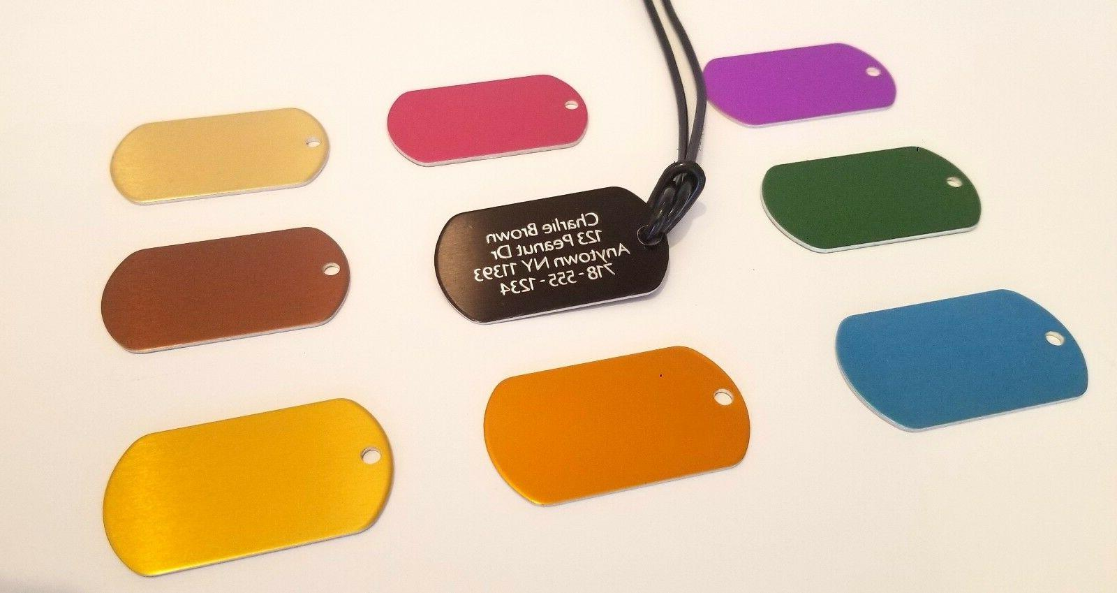 LUGGAGE TAG   ID TAGS DOUBLE SIDED DIAMOND ENGRAVED LUGGAGE