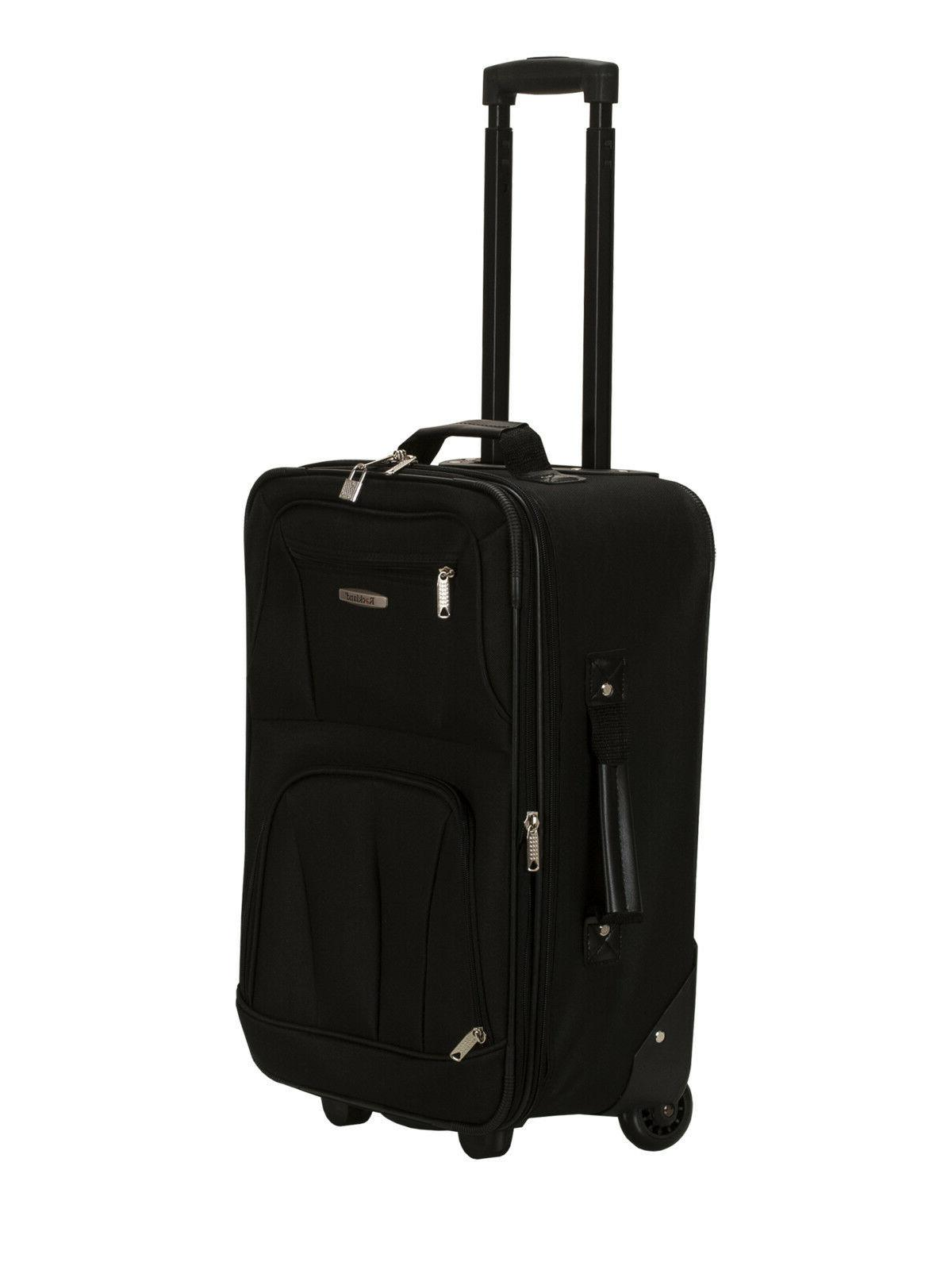 ROCKLAND ABS LUGGAGE BLACK