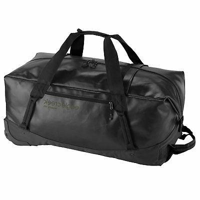 migrate wheeled duffel 110l unisex luggage jet