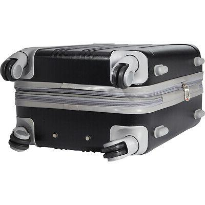 """Travelers Club 20"""" Hardside Carry-On NEW"""
