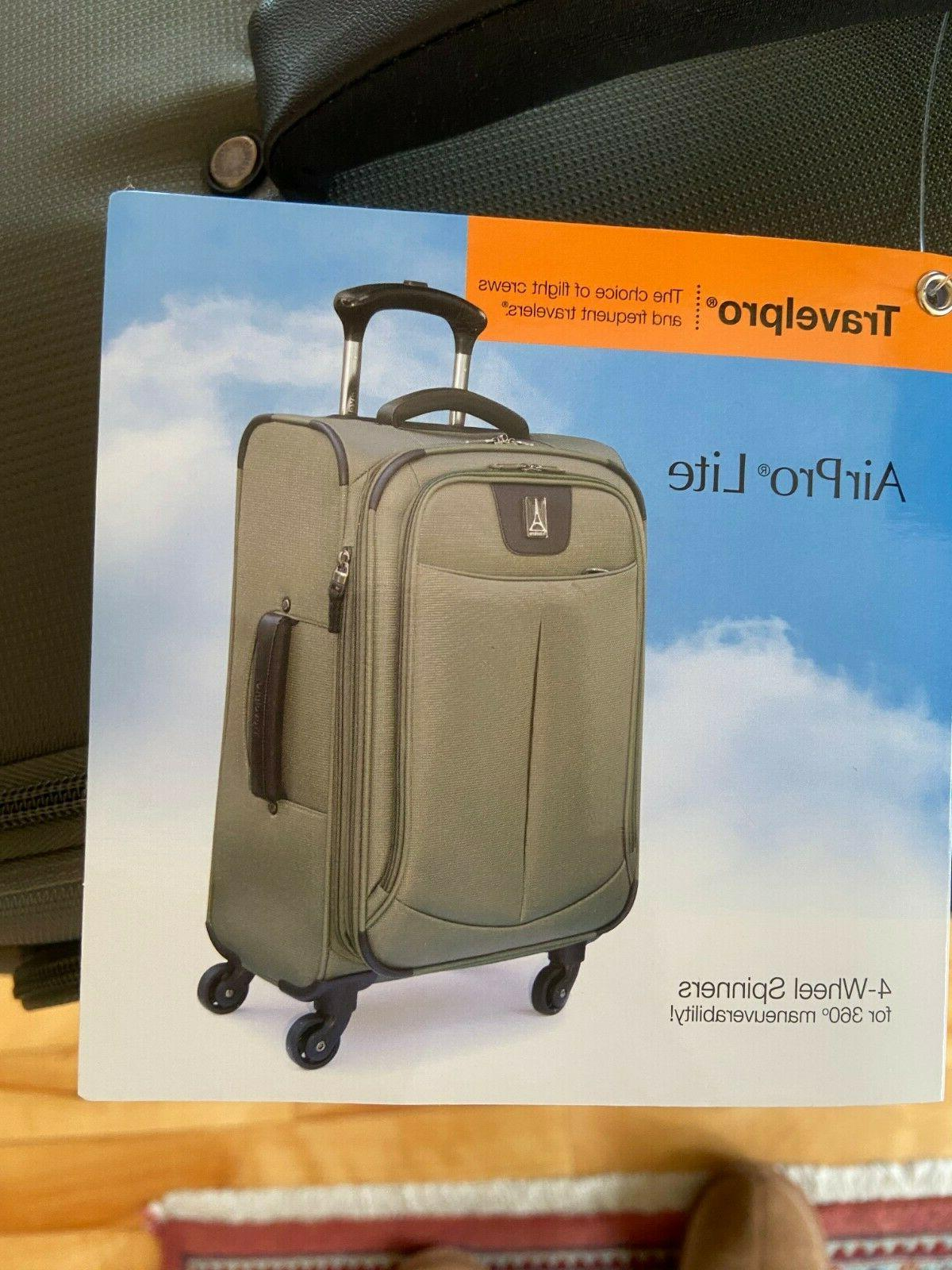 Spinner Suitcase Luggage 9 light