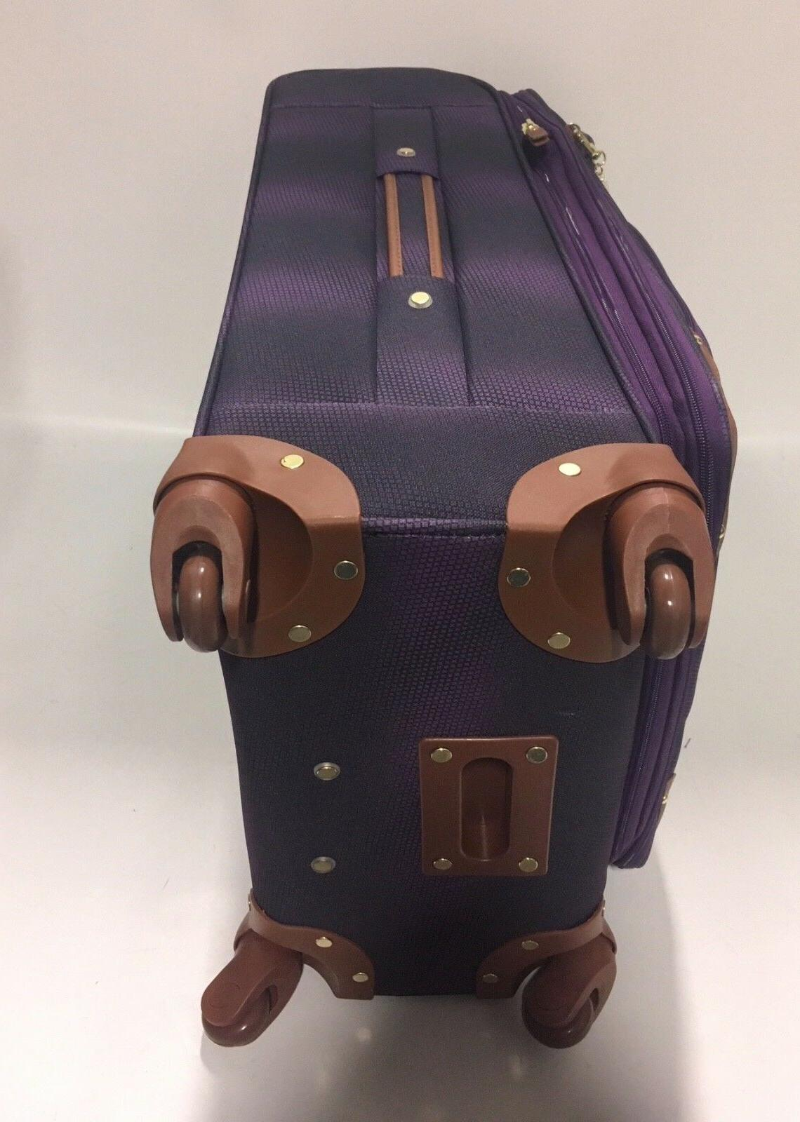NEW 3PC SPINNER LUGGAGE SET