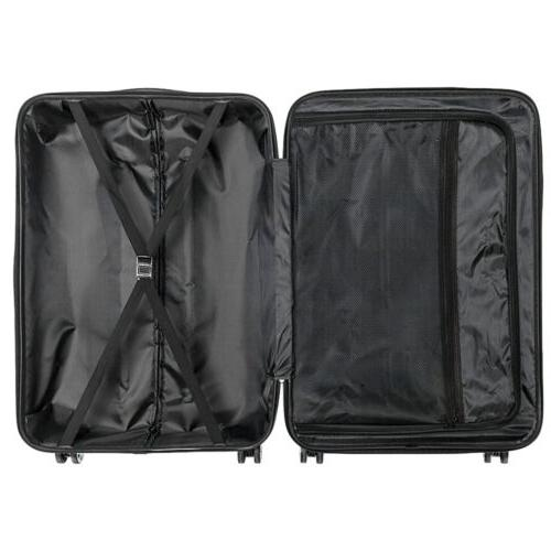3 Piece ABS Trolley Carry On Case Shell