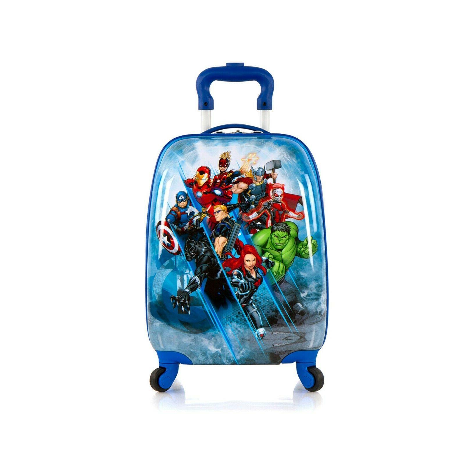 new avengers hardside spinner rolling luggage