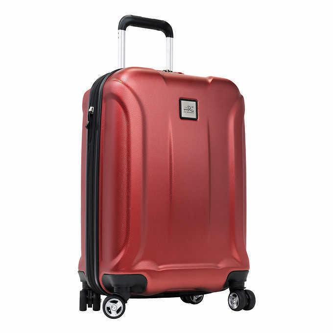 new luggage co expandable spinner carry on
