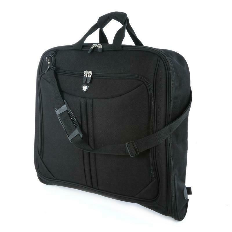 DELUXE Carrier Bag Luggage Black