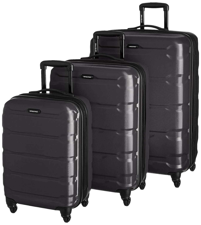omni hardside 3 piece nested spinner luggage