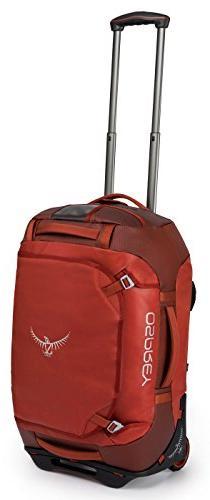 Osprey Packs Rolling Transporter 40 Duffel Bag, Ruffian Red