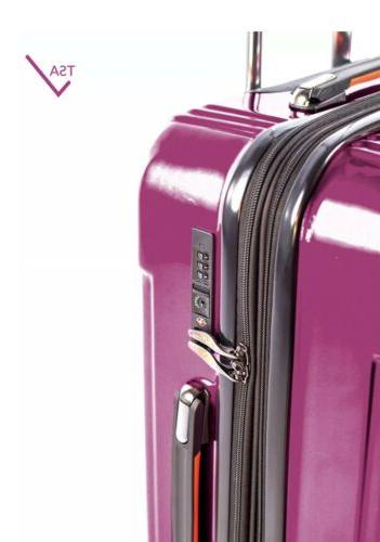 Pinnacle 28 in. Sided Luggage Zipper Rolling