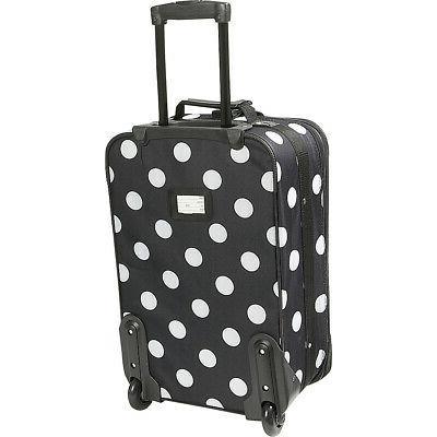Rockland Luggage Dot 4-Piece Expandable Luggage Set NEW