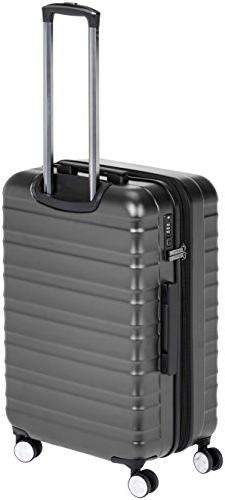 AmazonBasics Premium Spinner Luggage with Built-In TSA Lock ,