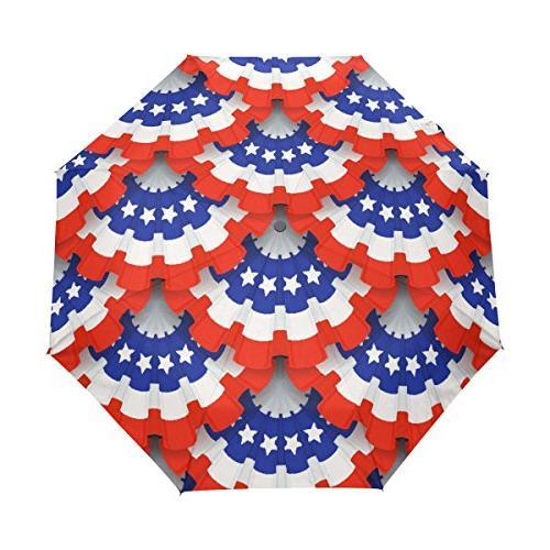 rain umbrella automatic windproof foldable