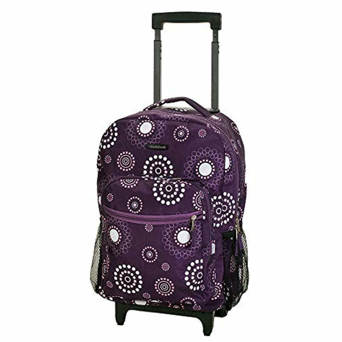 "Rockland 17"" Roadster Rolling Backpack"