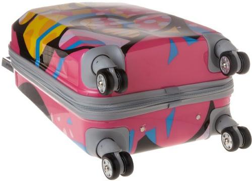 Rockland Luggage 20 in. Polycarbonate Carry On -