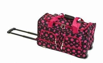 Rockland Luggage 22 Rolling Duffle Bag