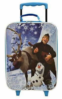 Disney Frozen Rolling Luggage Trolley for Kids  - 16 Inch