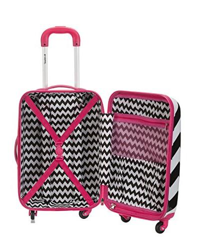 Rockland Luggage Hardside Spinner Carry-on
