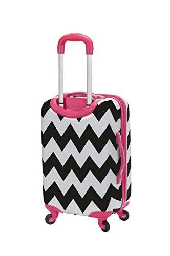 Rockland Luggage Safari Hardside Carry-on
