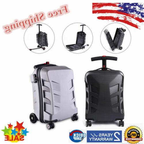 scooter suitcase travel scooter luggage multi functional