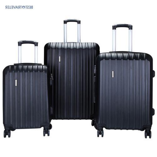set of 3 luggage set travel bag