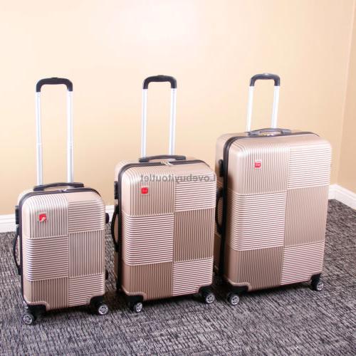 Set of 3 Premium Luggage Lock