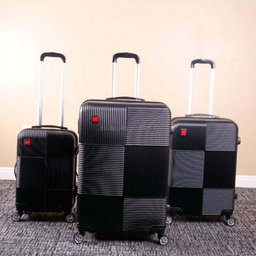 Set 3 Premium Luggage Trolley Suitcase Lock