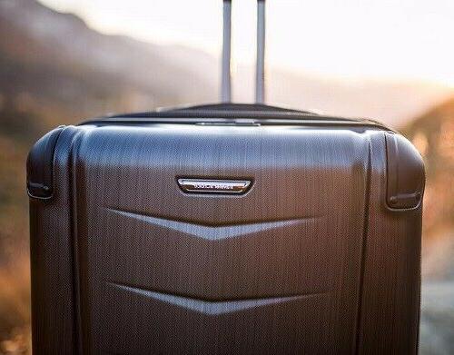 """Silverwood 26"""" Hardside Luggage Suitcase"""