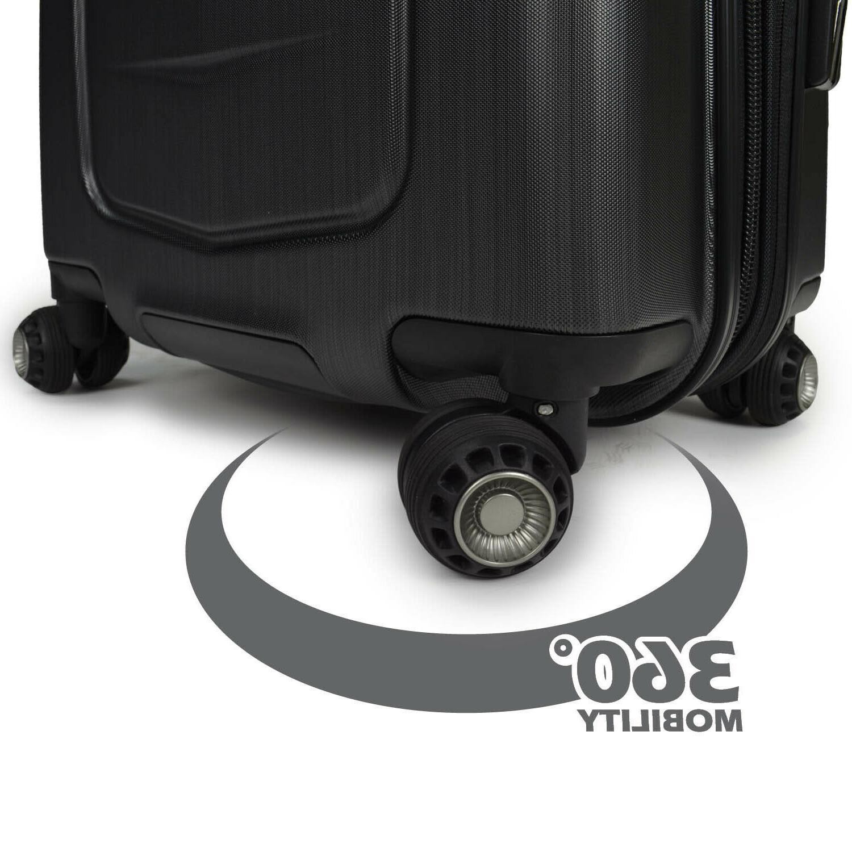 """Silverwood 26"""" Polycarbonate Hardside Expandable Suitcase"""