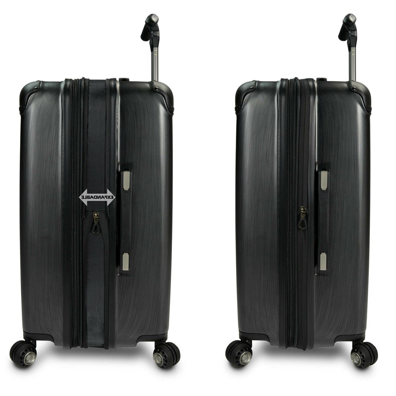 """Silverwood 26"""" Hardside Spinner Luggage Suitcase"""