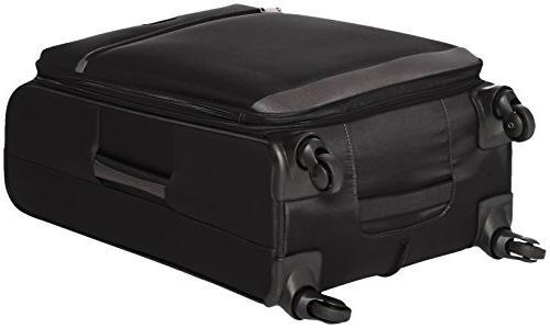 AmazonBasics Luggage, 25-inch, Black