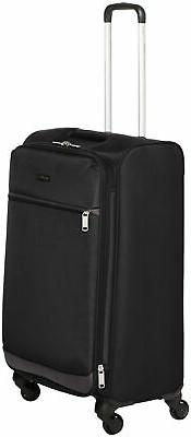 AmazonBasics Softside Spinner Luggage - 29-inch, Black