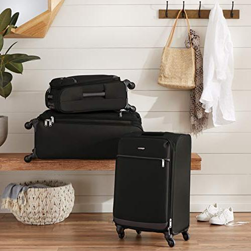 AmazonBasics Softside Luggage - 29-inch, Black