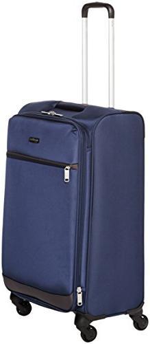 AmazonBasics Softside Spinner Luggage - 29-inch, Navy Blue