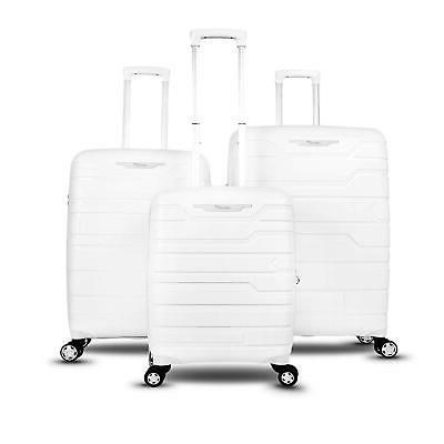 Gabbiano Collection 3-Piece Hard-Side Cases with TSA lockS