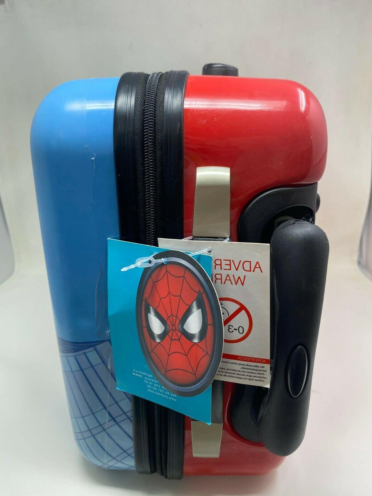 Marvel Spiderman Hardside Luggage Kids 18