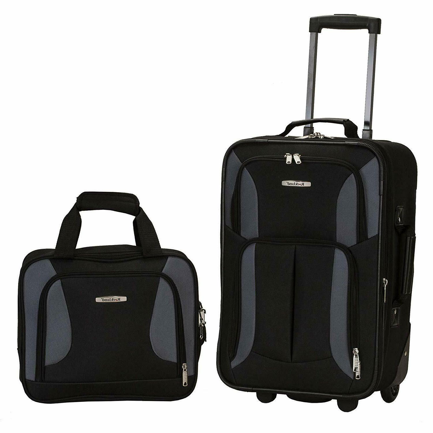 spinner luggage carry on set travel camping