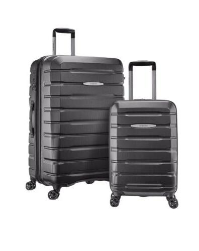 tech 2 0 2 piece hardside luggage