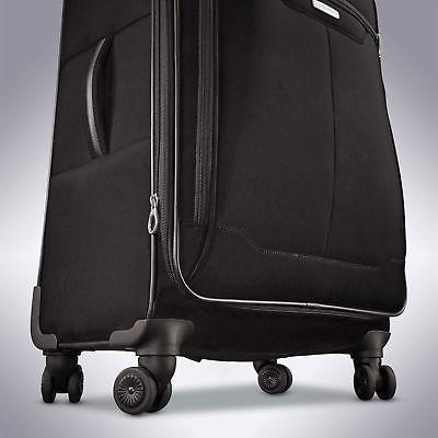 "Samsonite Luggage Black, Blue, 25"", -"